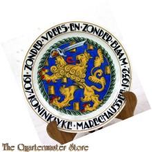 Mosa Maastricht wandbord Koninklijke Marechaussee 1907-1932