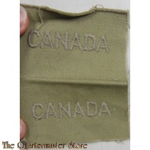 Shouldertitles Canada summer WW2