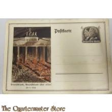 Postkarte Deutschland uber Alles!