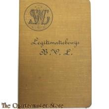 Legimatiebewijs B.V.L. Amsterdam 1926