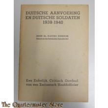 Boekje Duitsche aanvoering en soldaten 1939-40