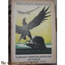 Buch 11e Reichs Frontsoldatentag am Rhein 4-5 okt 1930