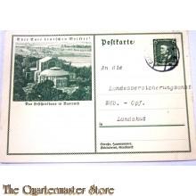 Postkarte das Festspielhaus in Bayreuth