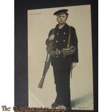 Prent briefkart 1905 op Schildwacht