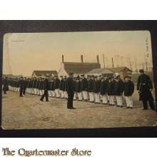 Prent briefkaart 1905 aantreden