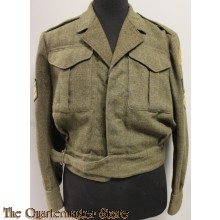 Battle dress blouse serge Canada  aug 1945