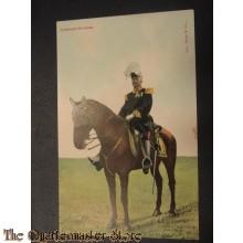 Prent briefkaart Luitenant-Generaal