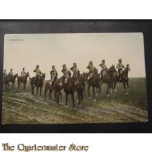 Prent briefkaart 1905 Trompetters