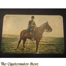 Prent briefkaart 1905 Trompetter Marschtenue