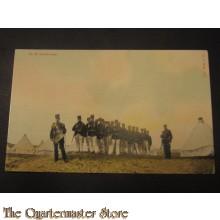Prent briefkaart 1905 op de plaats rust
