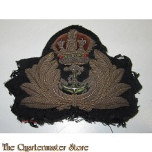 British bullion Naval officiers Capbadge
