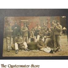 Prent briefkaart 1905 Piepers jassen