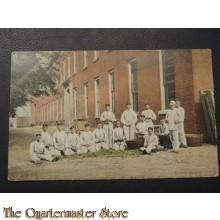 Prent briefkaart 1905 Boonen doppen