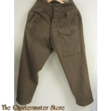 Broek wol M40 (Battle dress trousers wool M40)