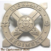 Cap badge Highland Regiment