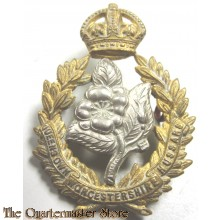 Cap Badge for the Queens Own Worcestershire Hussars