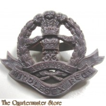 Cap Badge Middlesex Regiment  (plastic)