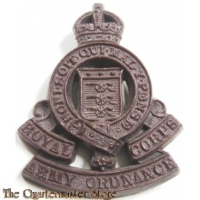 Cap badge Royal Army Ordnance Corps R.A.O.C. (plastic)
