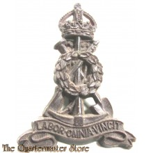 Cap Badge Labour Corps (Pioneers) plastic