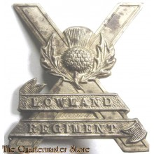 Cap badge 52nd Lowland regiment