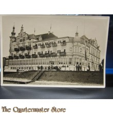 Presse Photo Les Actualites  Belges 20-09-1938 Das Rheinhotel Dreesen in Bad Godesberg am Rhein