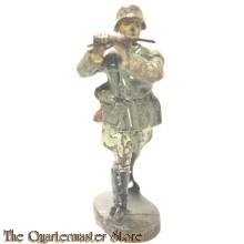 Wehrmacht Dwarsfluit muzikant Lineol  (German musician flute  WW2)