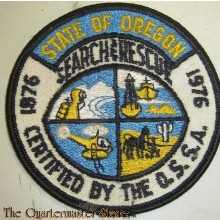 Patch State of Oregon Search and Rescue