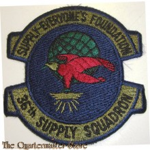 Badge 36th Supply squadron USAF