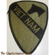 Patch subdued vietnam 1st cavalry Vietnam