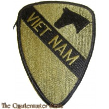 Patch subdued 1st cavalry Vietnam