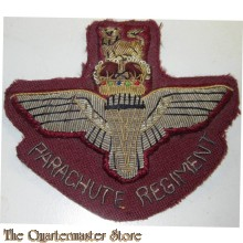 The Parachute  Regimental Military Blazer Badge