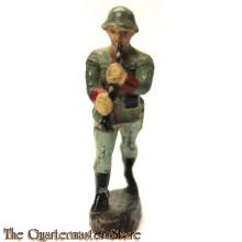 Wehrmacht klarinet muzikant Elastolin (German musician clarinet WW2)