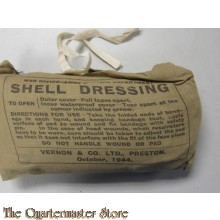 British ww2  shell dessing