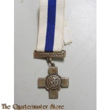 George Cross for gallantry