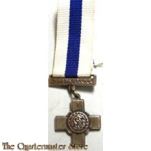 George Cross for gallantry miniature