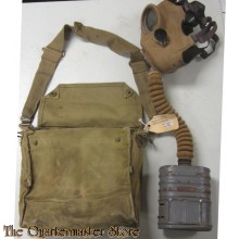 Gas Mask with carrying Bag MKV BEF