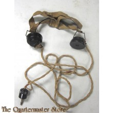 Koptelefoonset Type CLR no 1  WO2 (Headset Type CLR no 1 WW2)