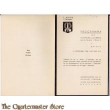 Uitnodiging plechtigheid Ereveld Menteng Poelo 7 Dec Divisie