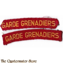 Garde Grenadiers straatnamen