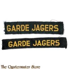 Garde Jagers straatnamen
