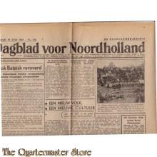 Dagblad voor Noord Holland zaandammer editie 18 juki 1942