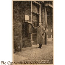 Prent briefkaart mobilisatie 1939 brief posten