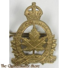 Capbadge British columbia Dragoons