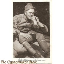 Prent briefkaart mobilisatie 1939 sold veldfles