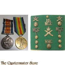 Medal/badges set MGC WW1