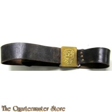Riem met koppelslot Spanje omstreeks 1940 (Belt and buckle Spanish 1940's)