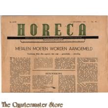 Horeca blad 11 Dec 1943