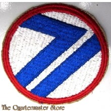 Mouwembleem 71st US Infantry Division (Sleeve badge 71st US Infantry Division)