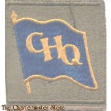 Sleeve patch GHQ South West Pacific Area