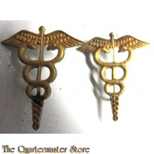 Collar insignia US Medic officers